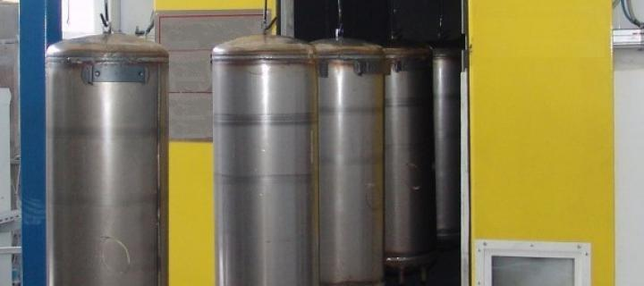 Surface preparation of water heaters – WH